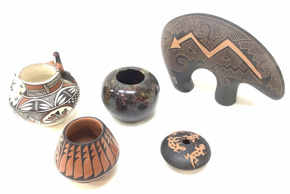 (5pc) M. Miller & Jemez Pots, Kuutimaitsa Acoma