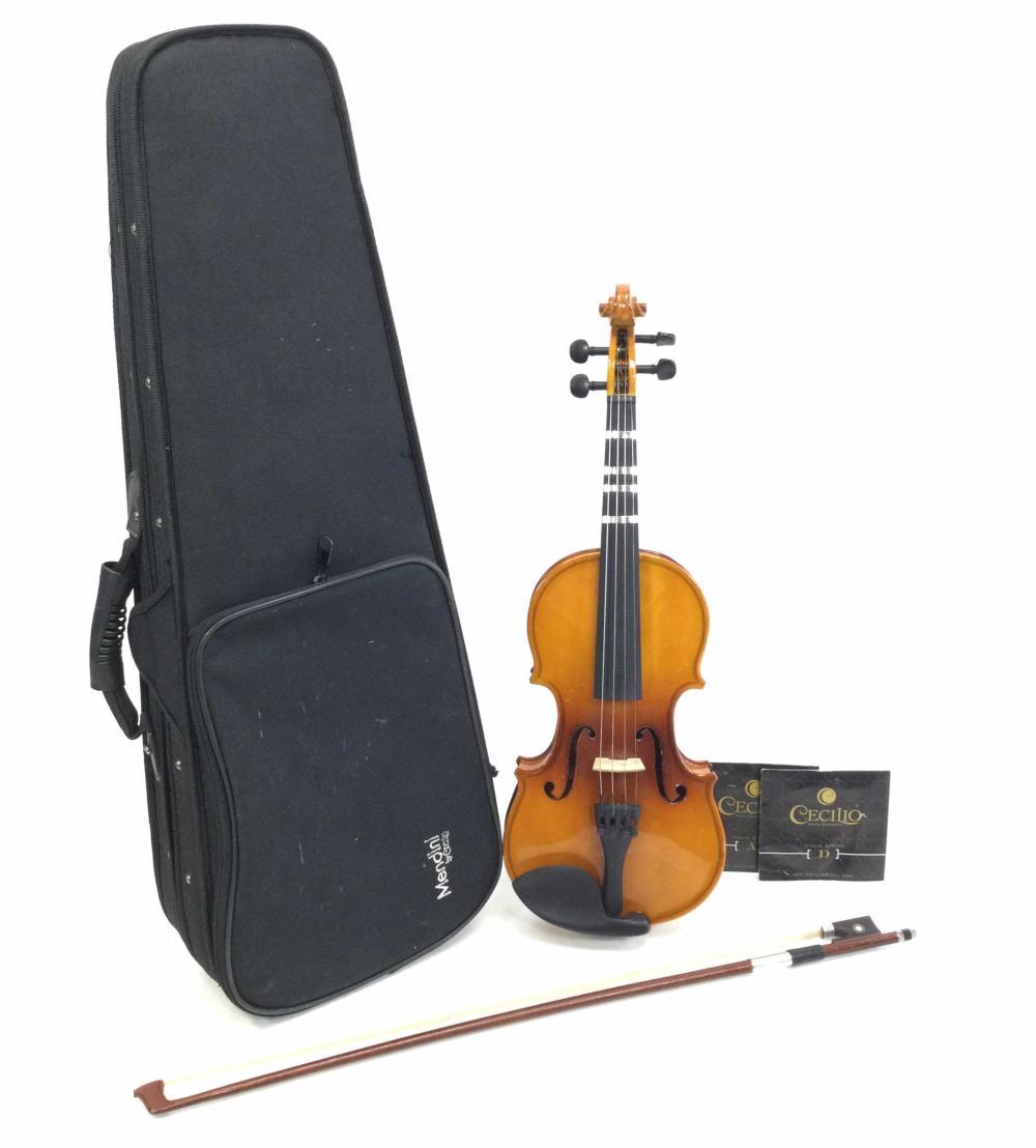 Mendini Cecilo 1/4 Violin With Case