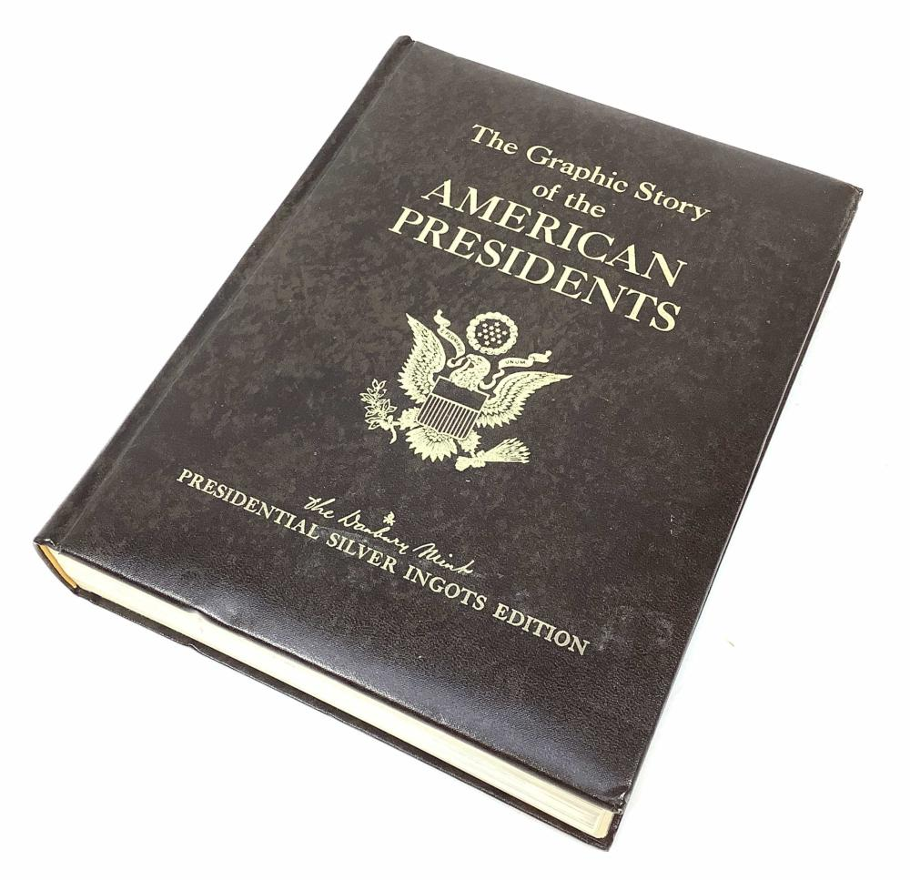 The Graphic Story Of The American Presidents Book
