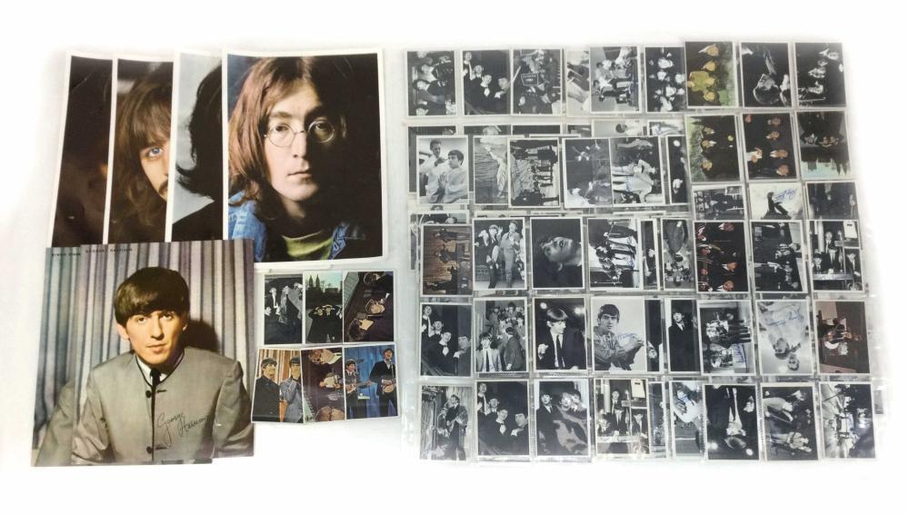 Vintage Beatles Topps Facsimile Cards & Photos