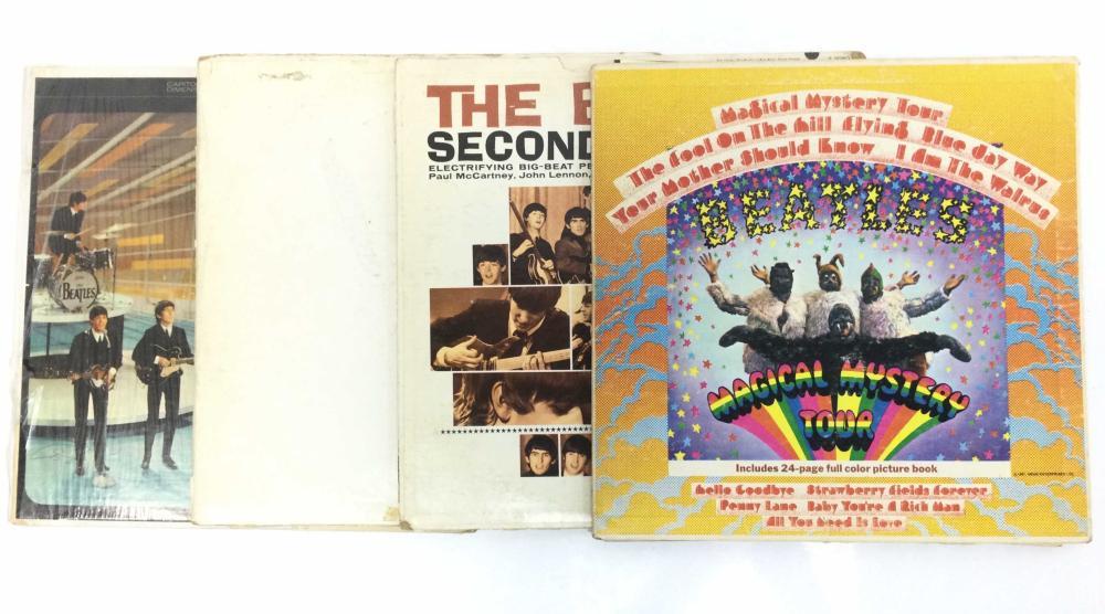 (6) Vintage Beatles Records