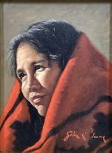 John Gawne (b.1952) Oil Painting On Board