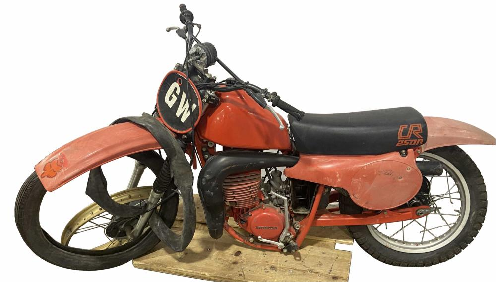 Gary Wells Crashed Caesar Palace Jump Dirtbike