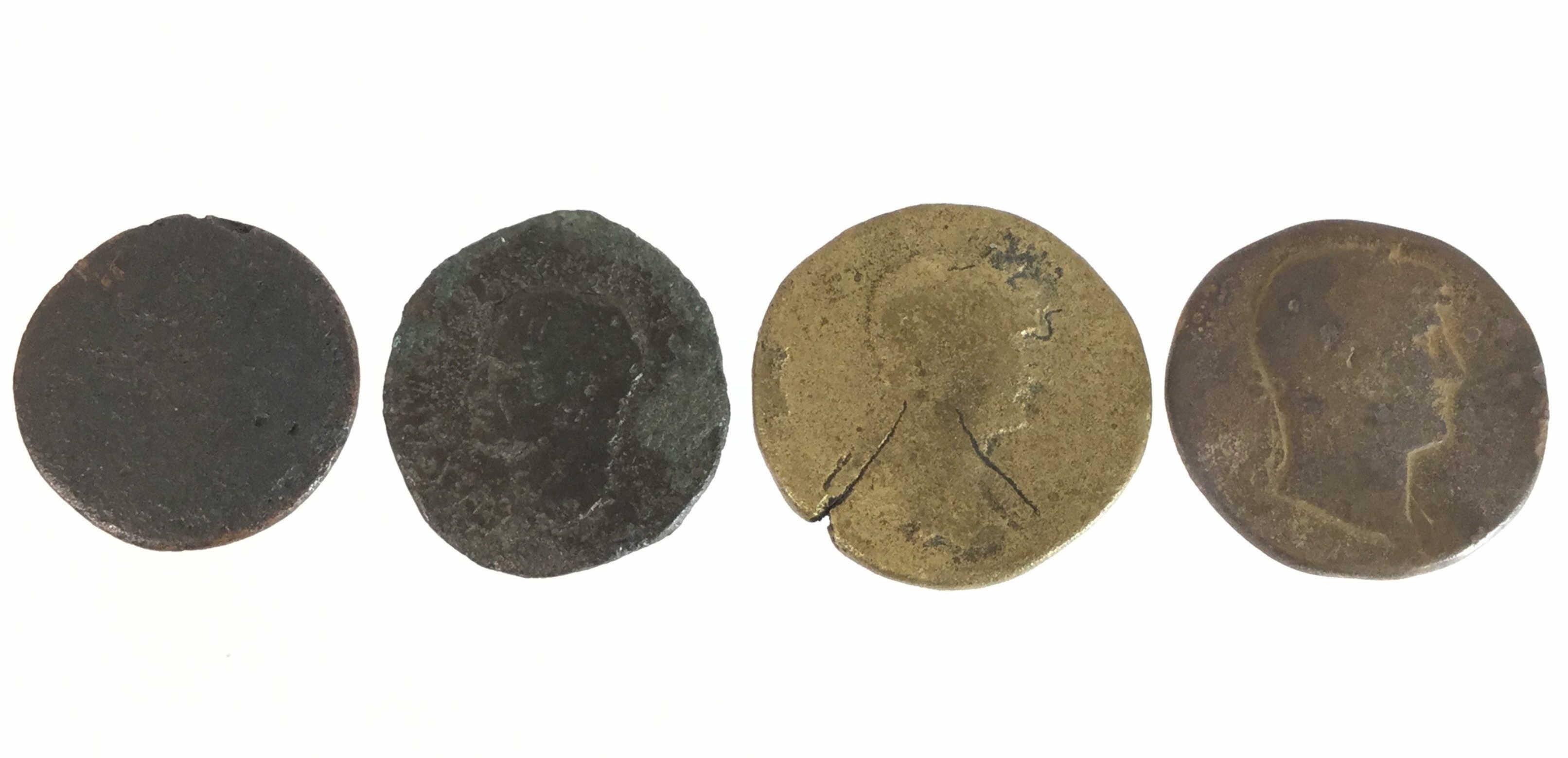 (4) Ancient Coins, Rome, Imperial, Sesterius