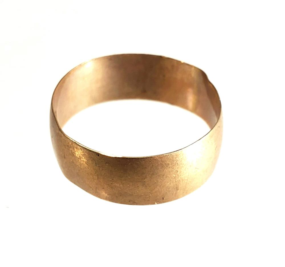 10K Gold Elf Wedding Band Size (7)