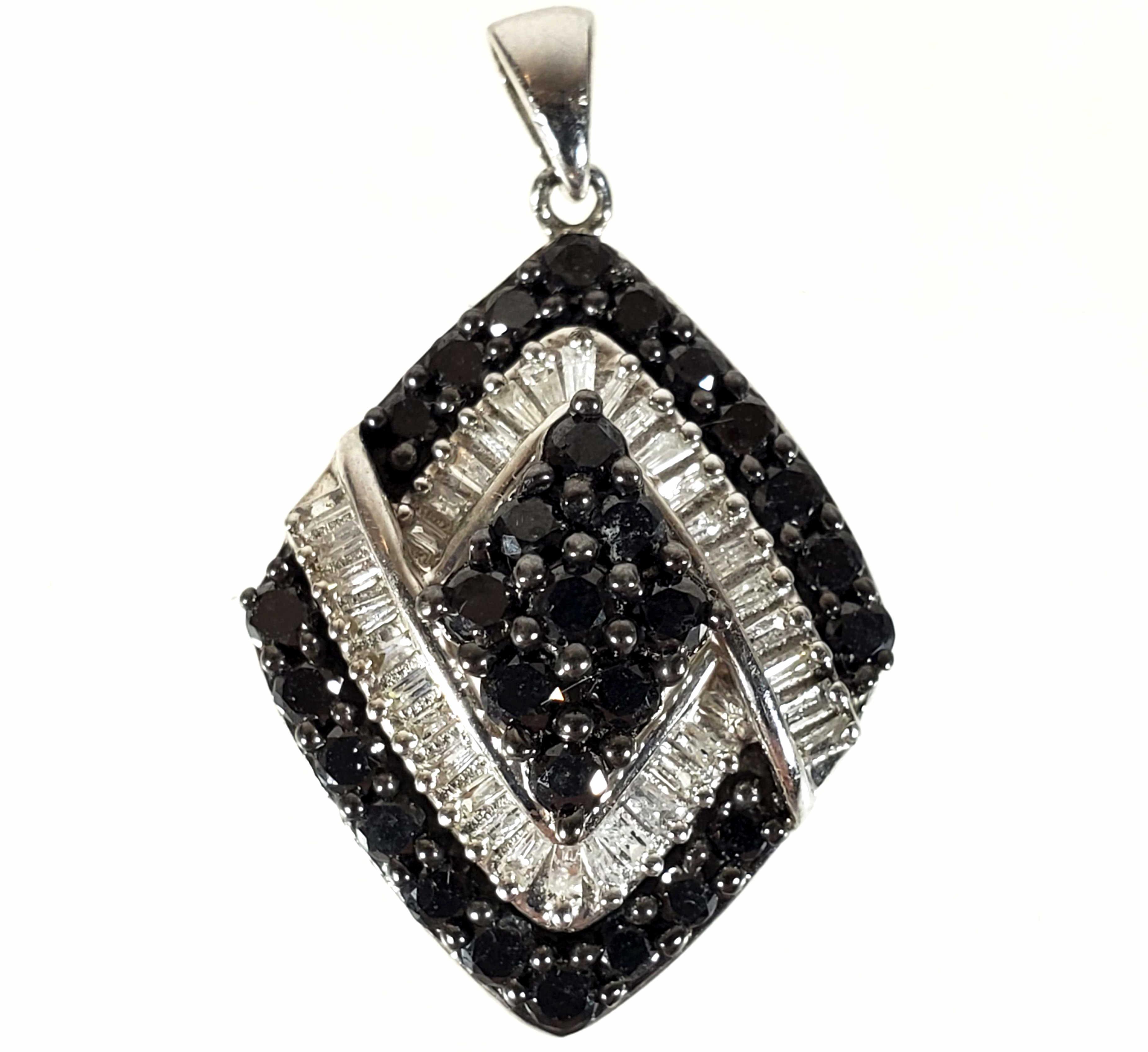 Sterling Silver & Diamond Pendant