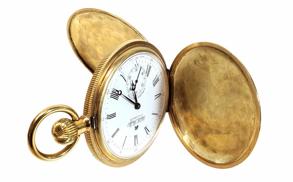 Wells Fargo Limited Edition 17 Jewel Pocket Watch