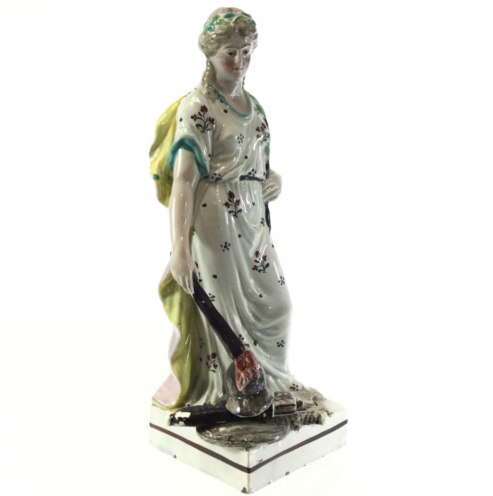 "Staffordshire Pearlware ""Peace"" Figurine"