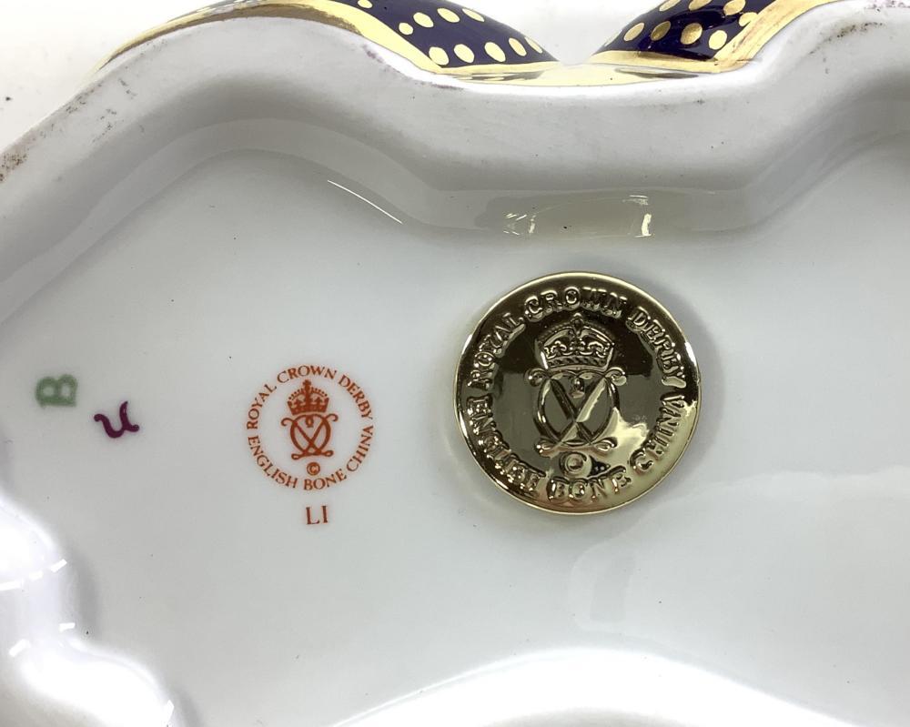 (3pc) Royal Crown Derby Crab, Dragon, Walrus