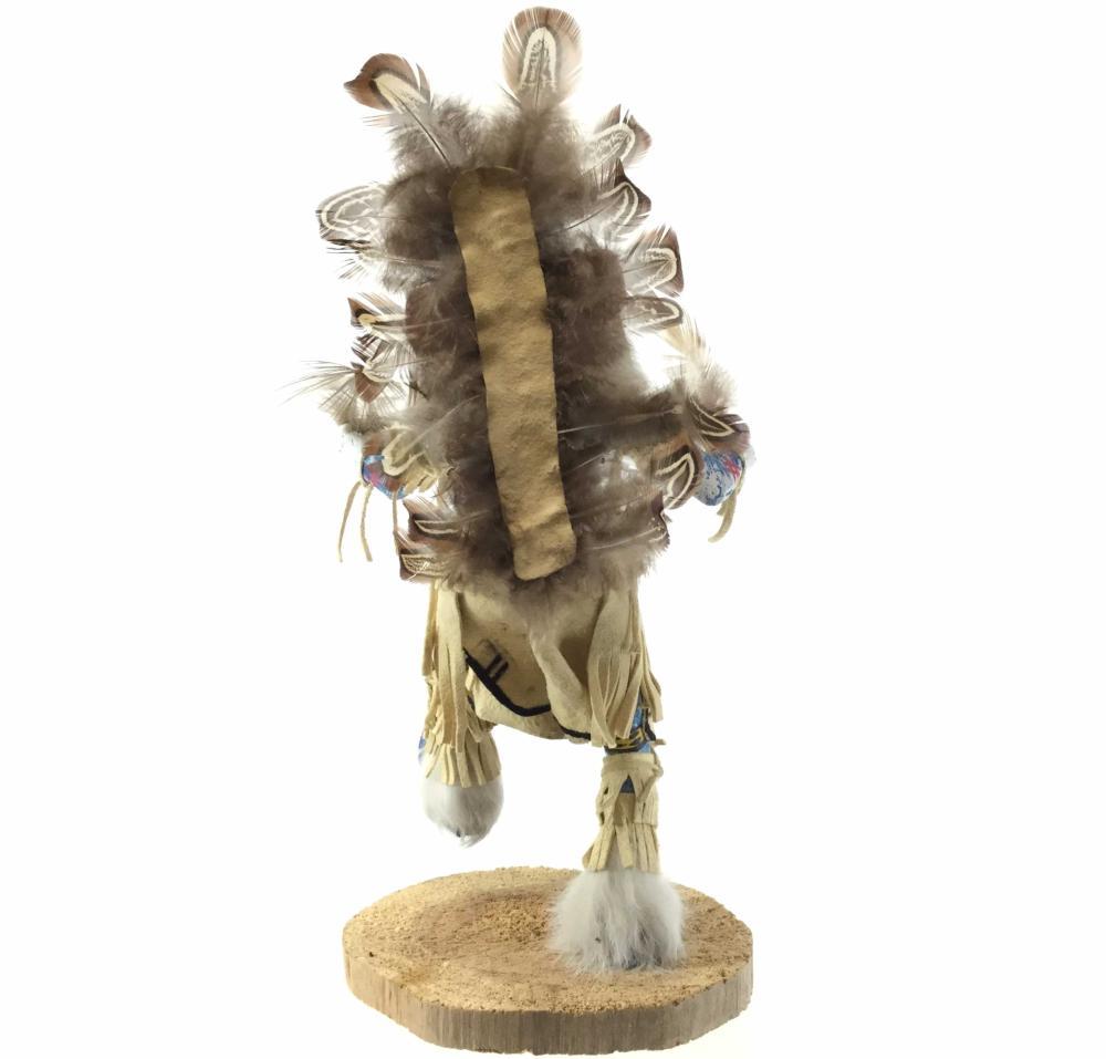 "Corrine Luther Native American ""Sakwahote"" Kachina"