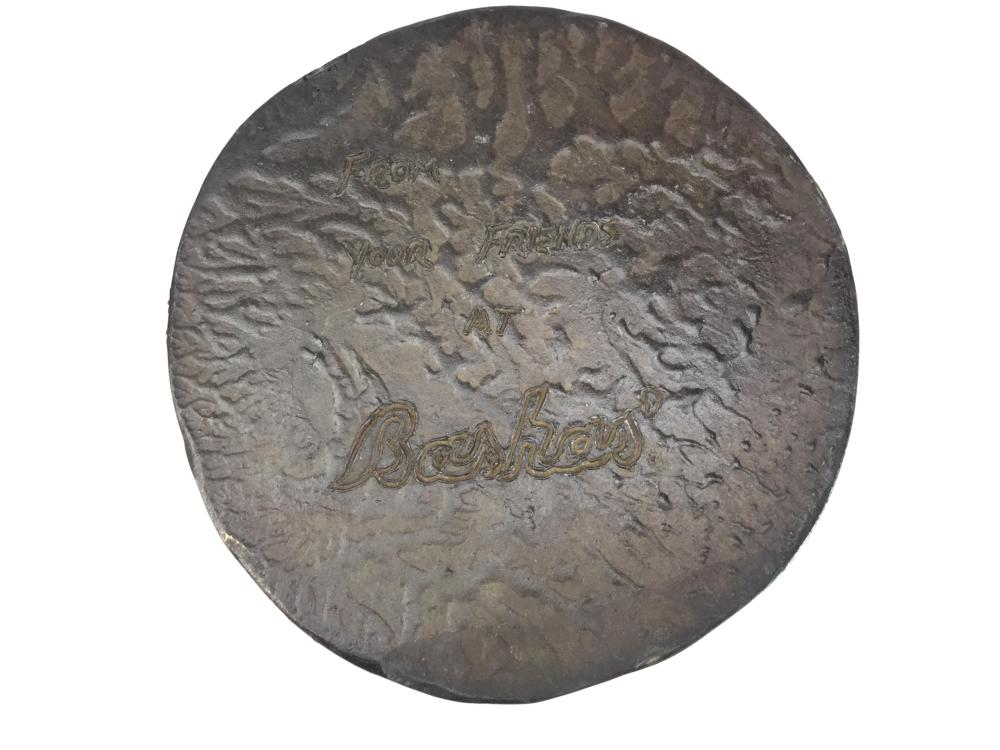 Joe Beeler (1931-2006) McFarland Bronze Medallion