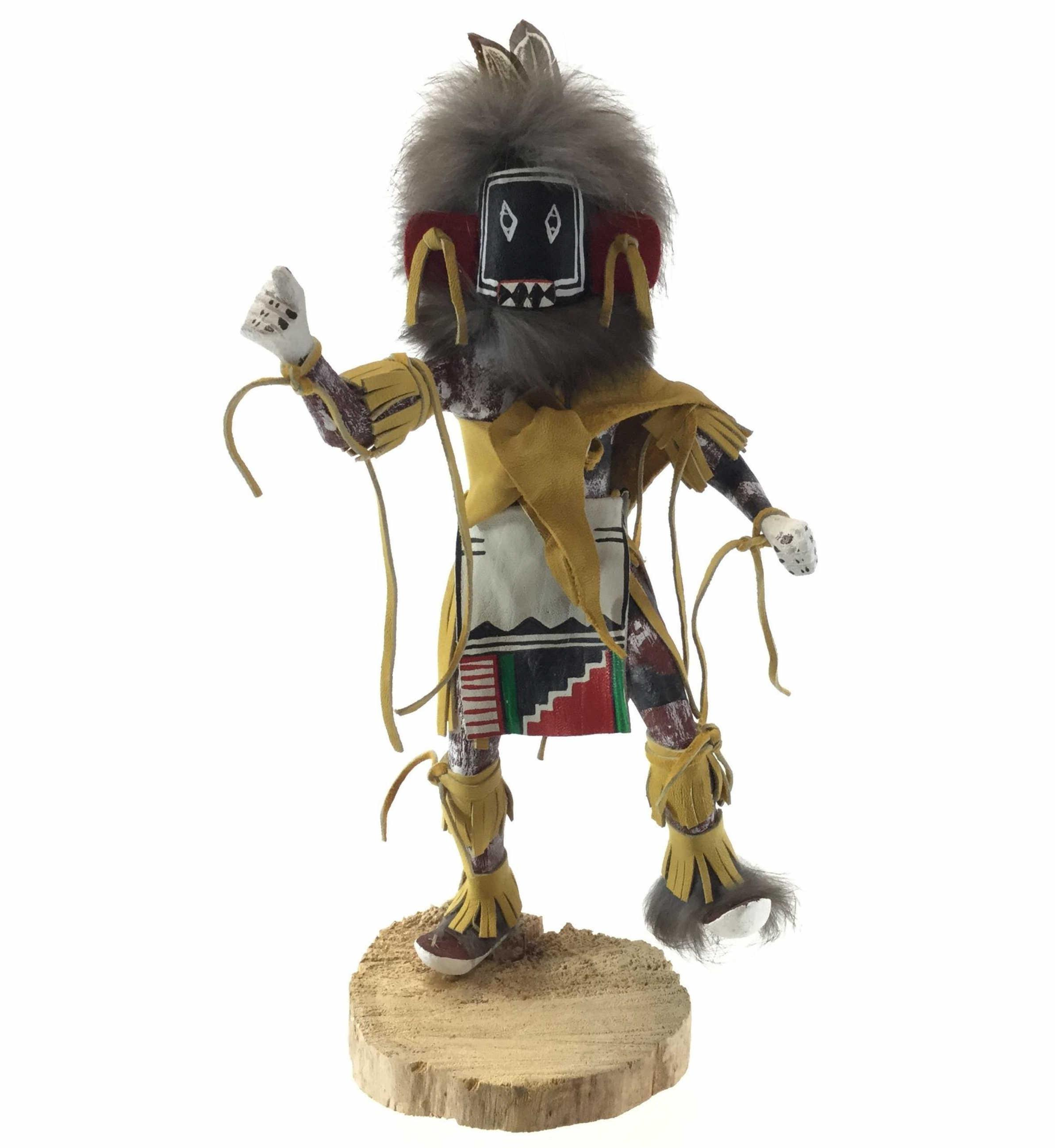 """Sherry Begay Native American """"Left Handed"""" Kachina"""