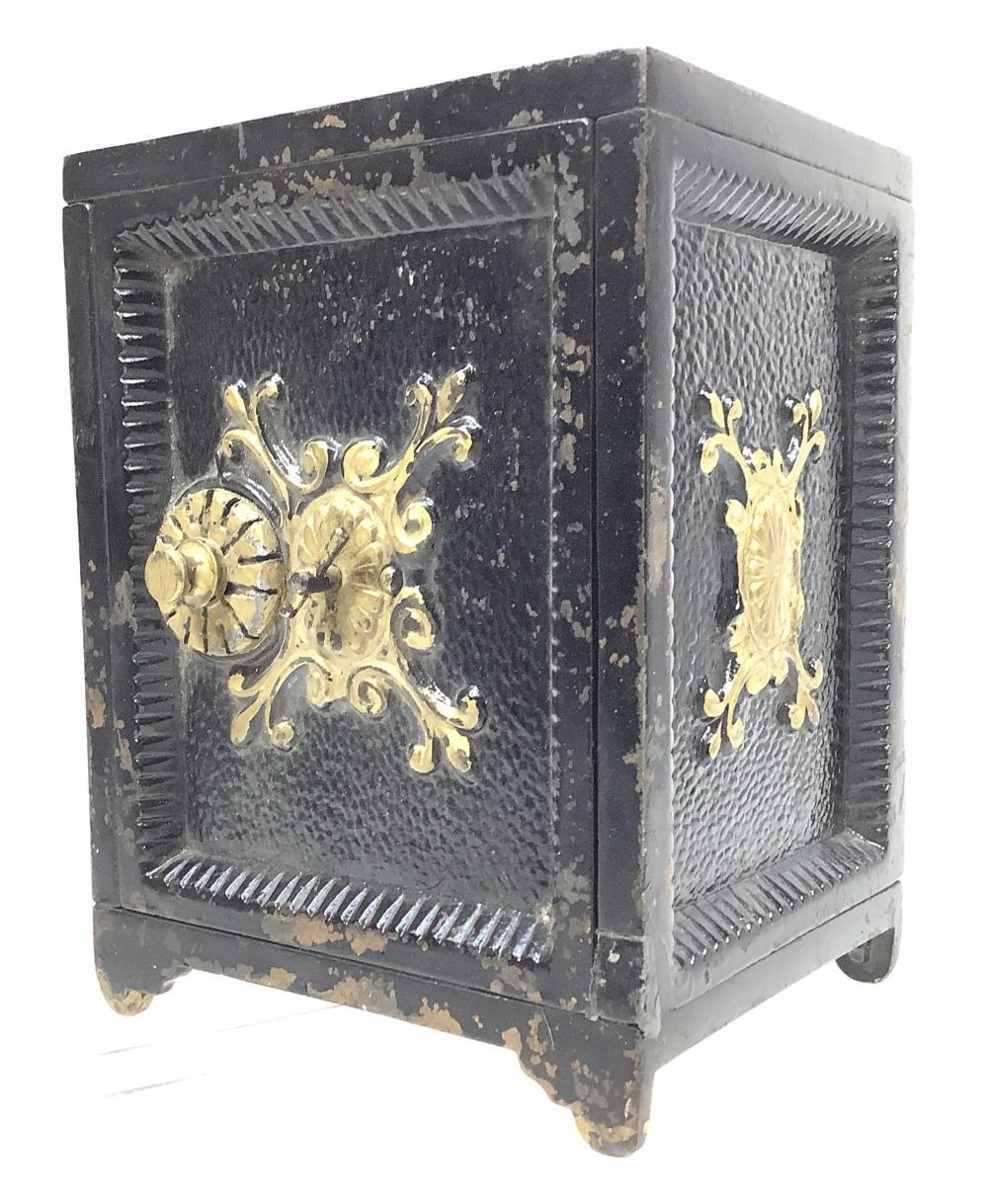 The Cast Iron Bank Safe Deposit Box