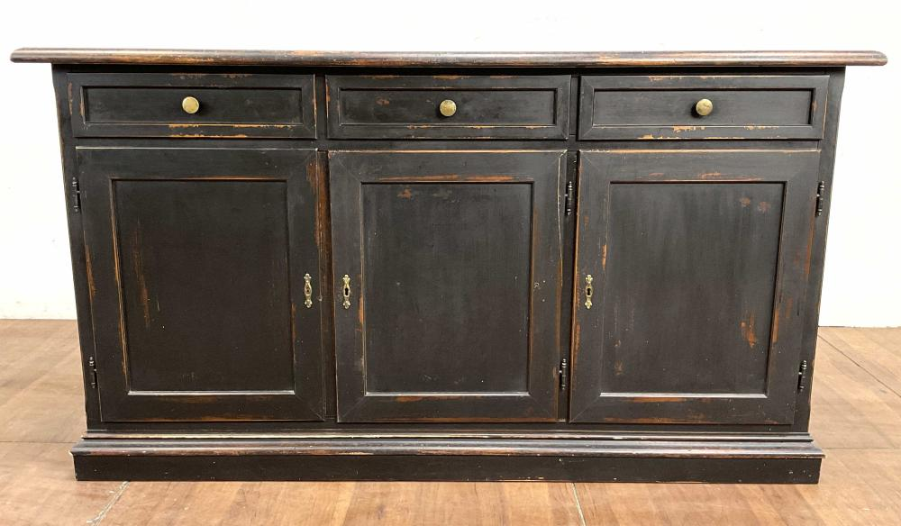 Traditional Style Custom Credenza / Buffet Cabinet