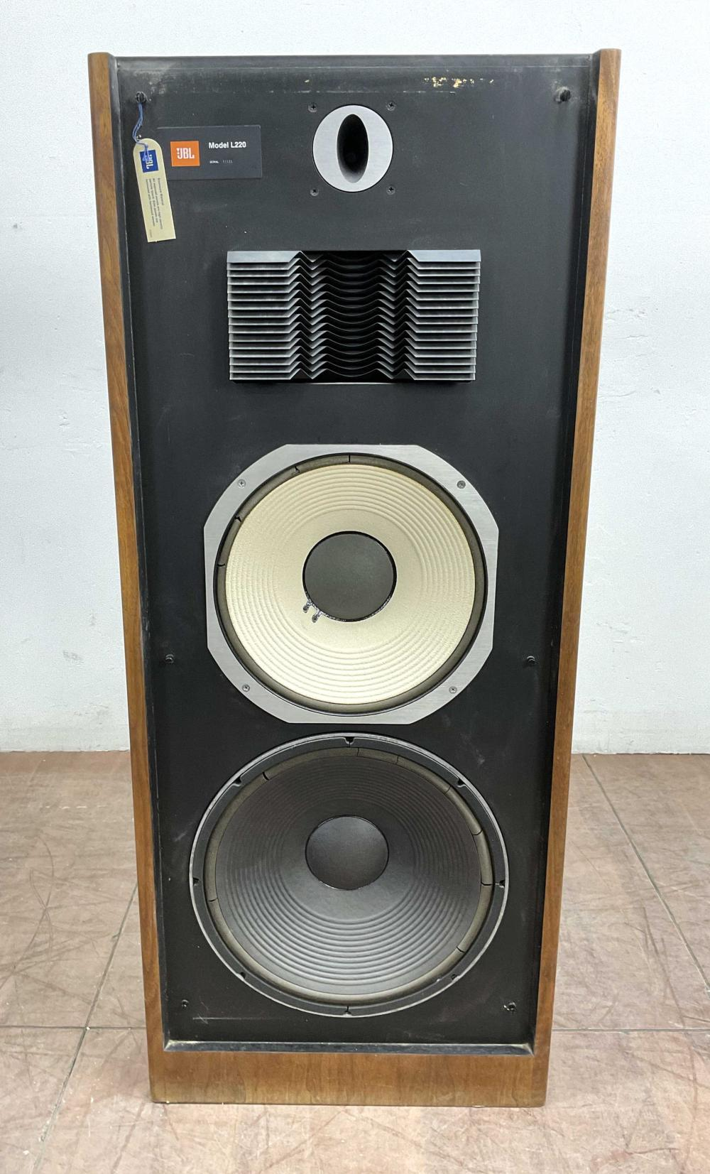 Jbl Model L220 Floor Loudspeaker System