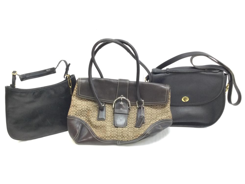 (3pc) Coach Handbags