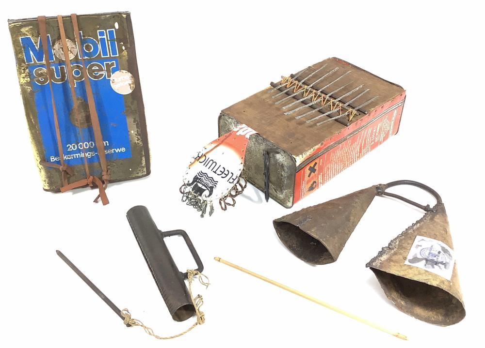 (4pc) Ethnic Instruments, Kondi, Karignan