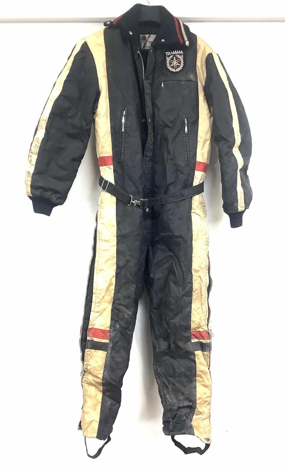 Vintage Yamaha Snowmobile Suit