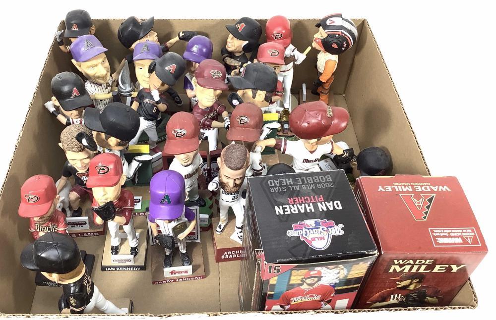(25) Assorted Sports Bobble Heads, Randy Johnson