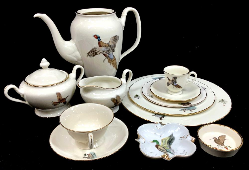 (91pc) Delano Studios Plate & Tea Set