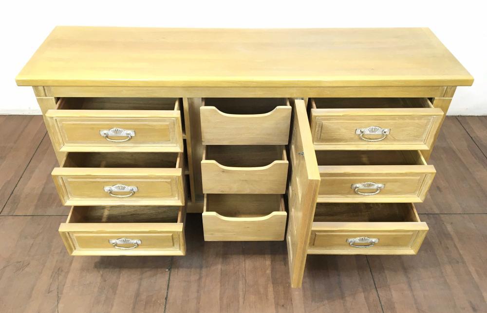 Lexington Link Taylor Taos Collection Country Oak Triple Dresser
