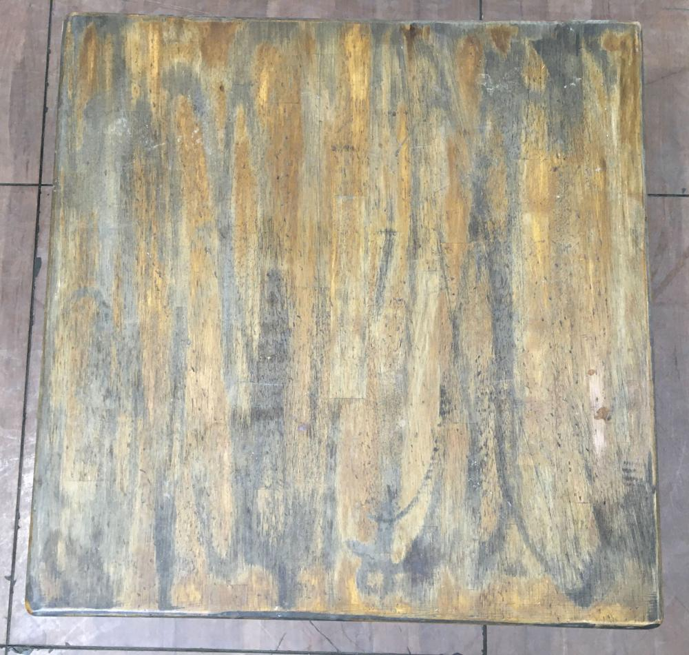 Country Americana Style Plank Top Coffee Table