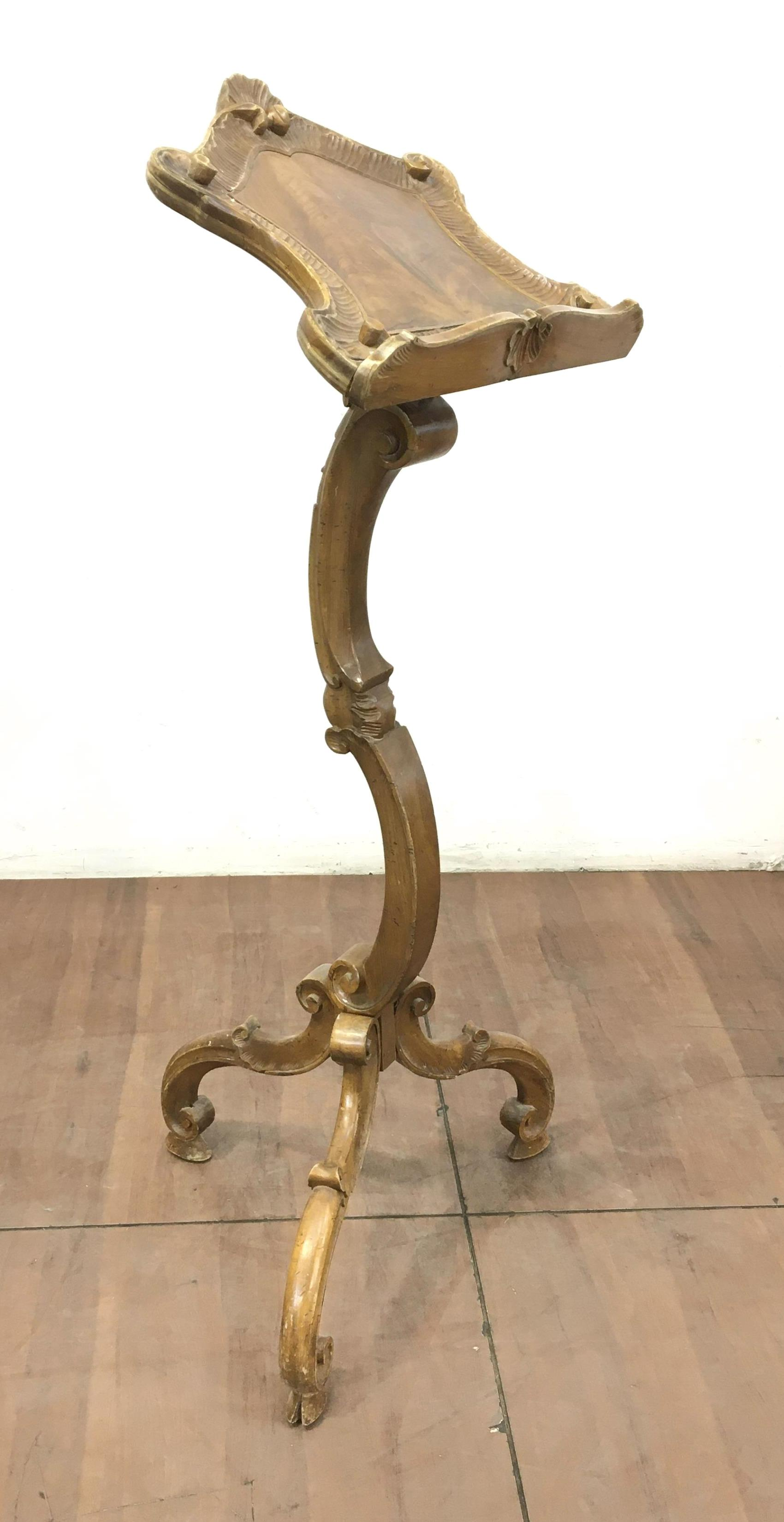 Replica French Regence Style Music Stand, Podium