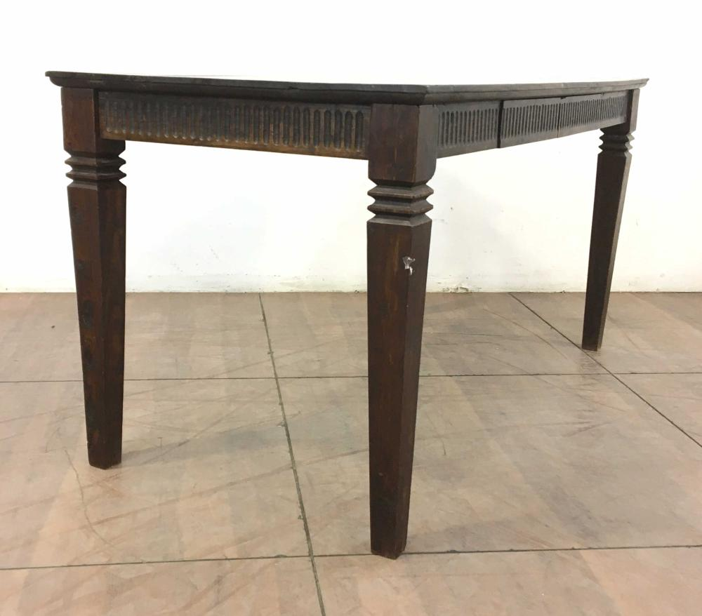Neoclassical Italian Style Pine Writing Table