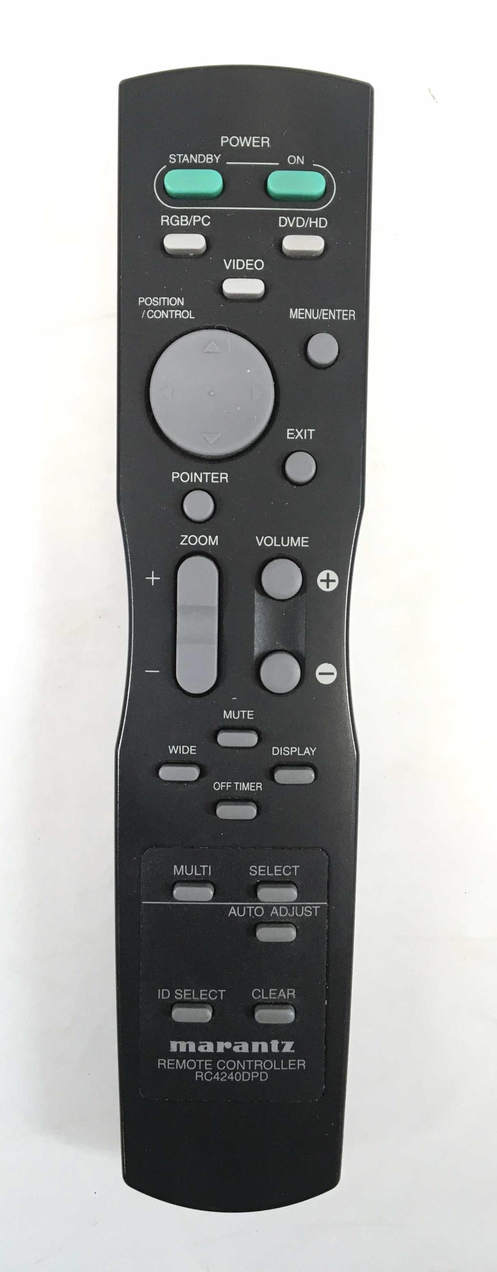 Marantz 42in Plasma TV w/ Remote & Sanus TV