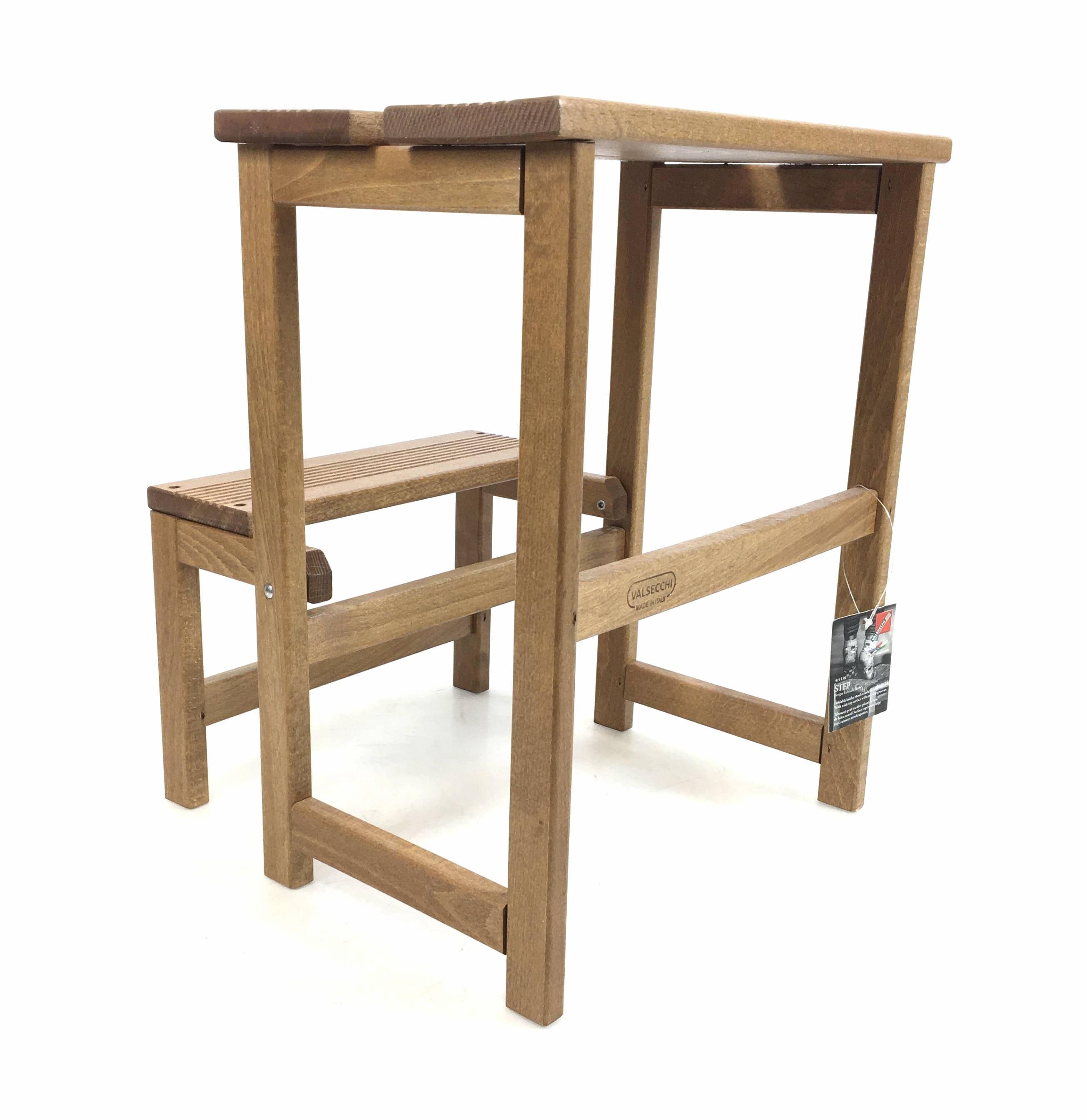 Valsecchi Beechwood Foldable Ladder/ Stool