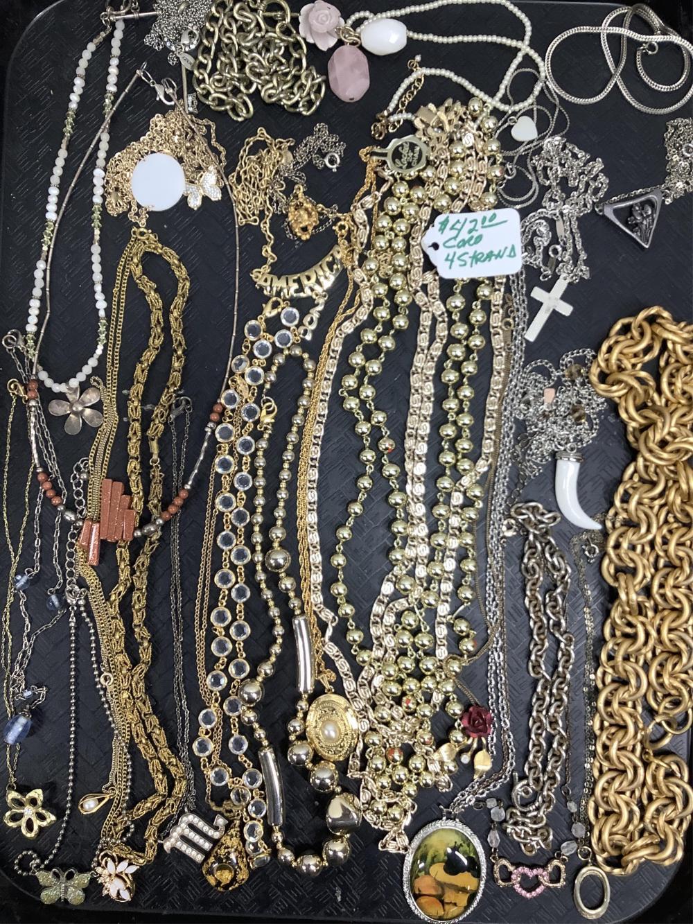 Costume Jewelry Necklaces