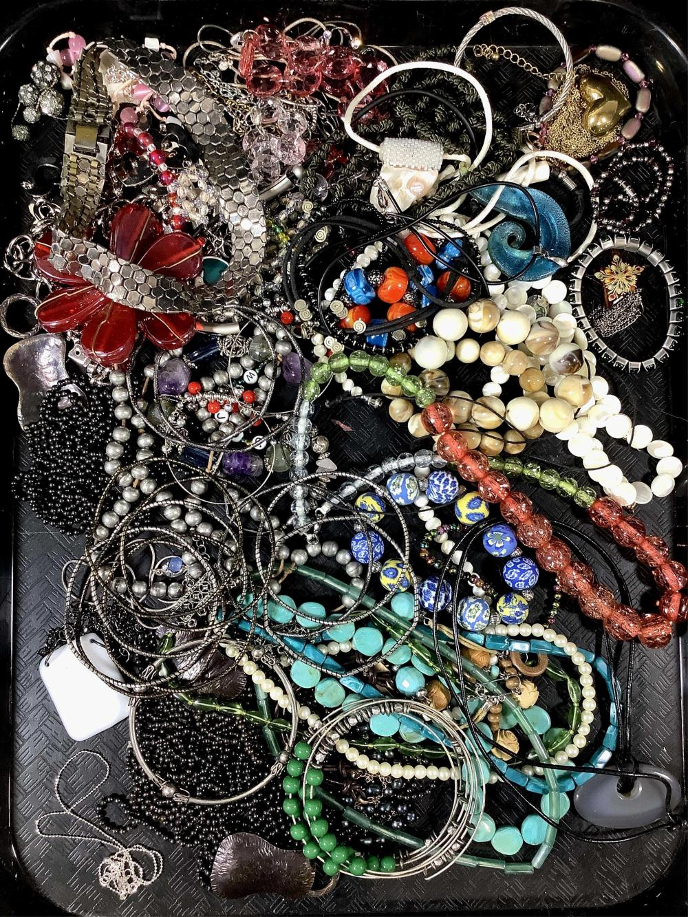 Vintage Assorted Costume Jewelry, Necklaces