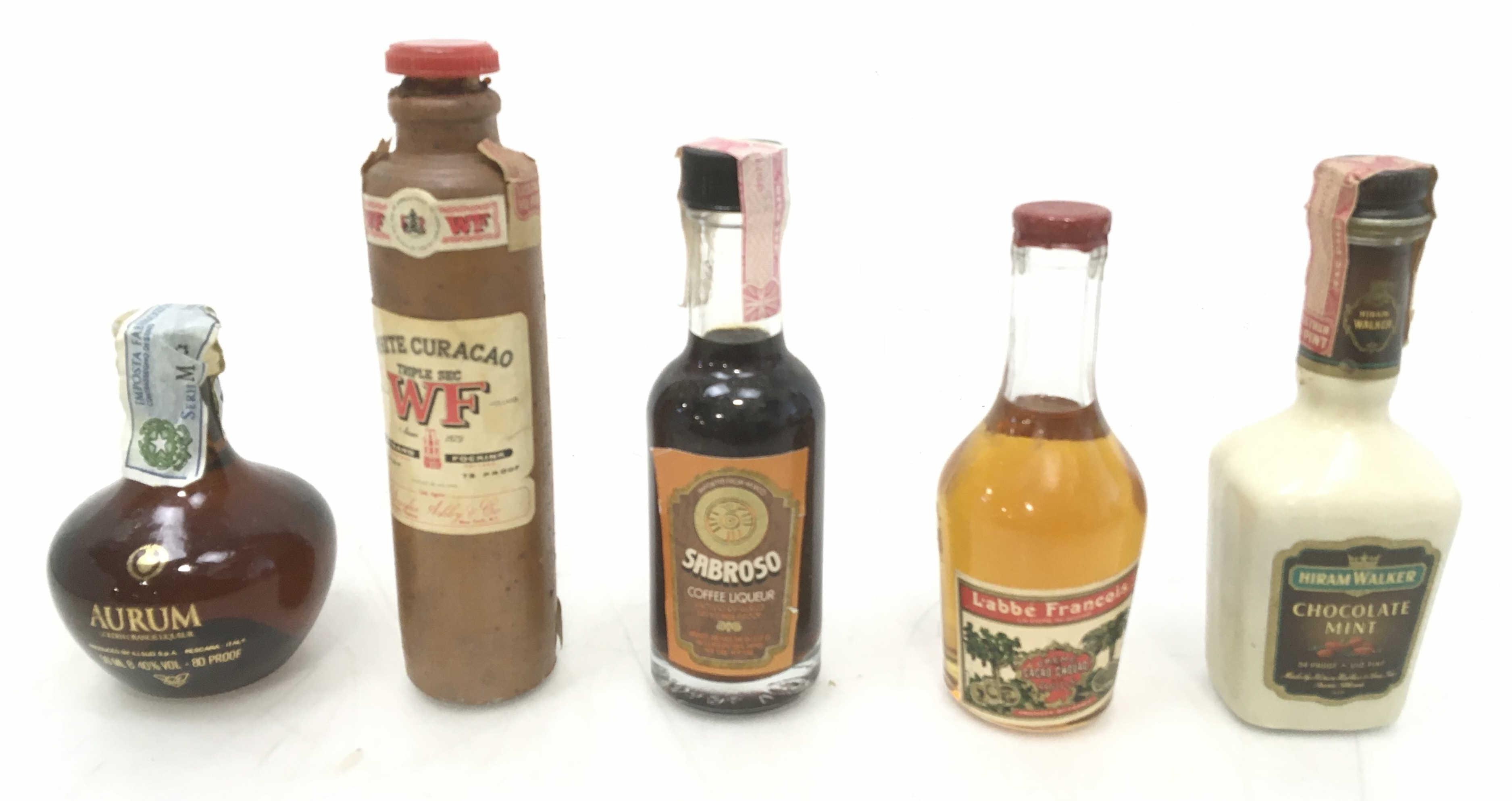 (56pc) Collectable Miniature Liquor Bottles