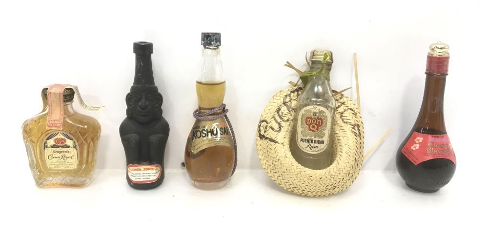 (49pc) Collectable Miniature Liquor Bottles