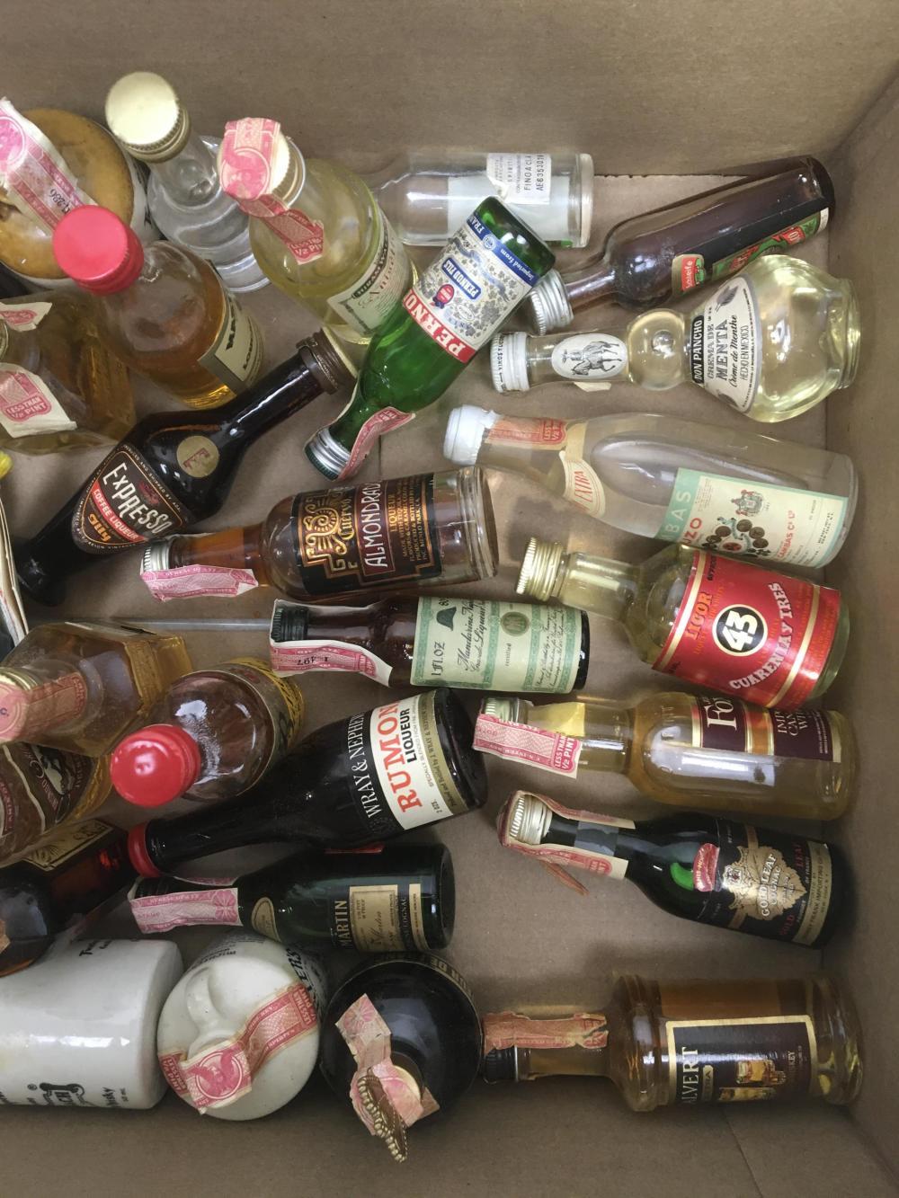(47pc) Collectable Miniature Liquor Bottles