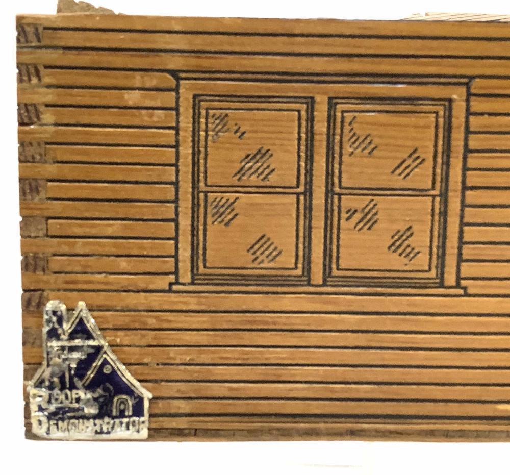 Vintage Salesman Sample Roof Demonstration Kit