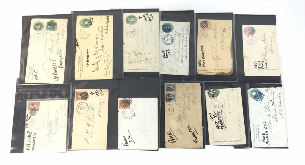 (40+) Vintage Russia Covers, Covers With Cancels