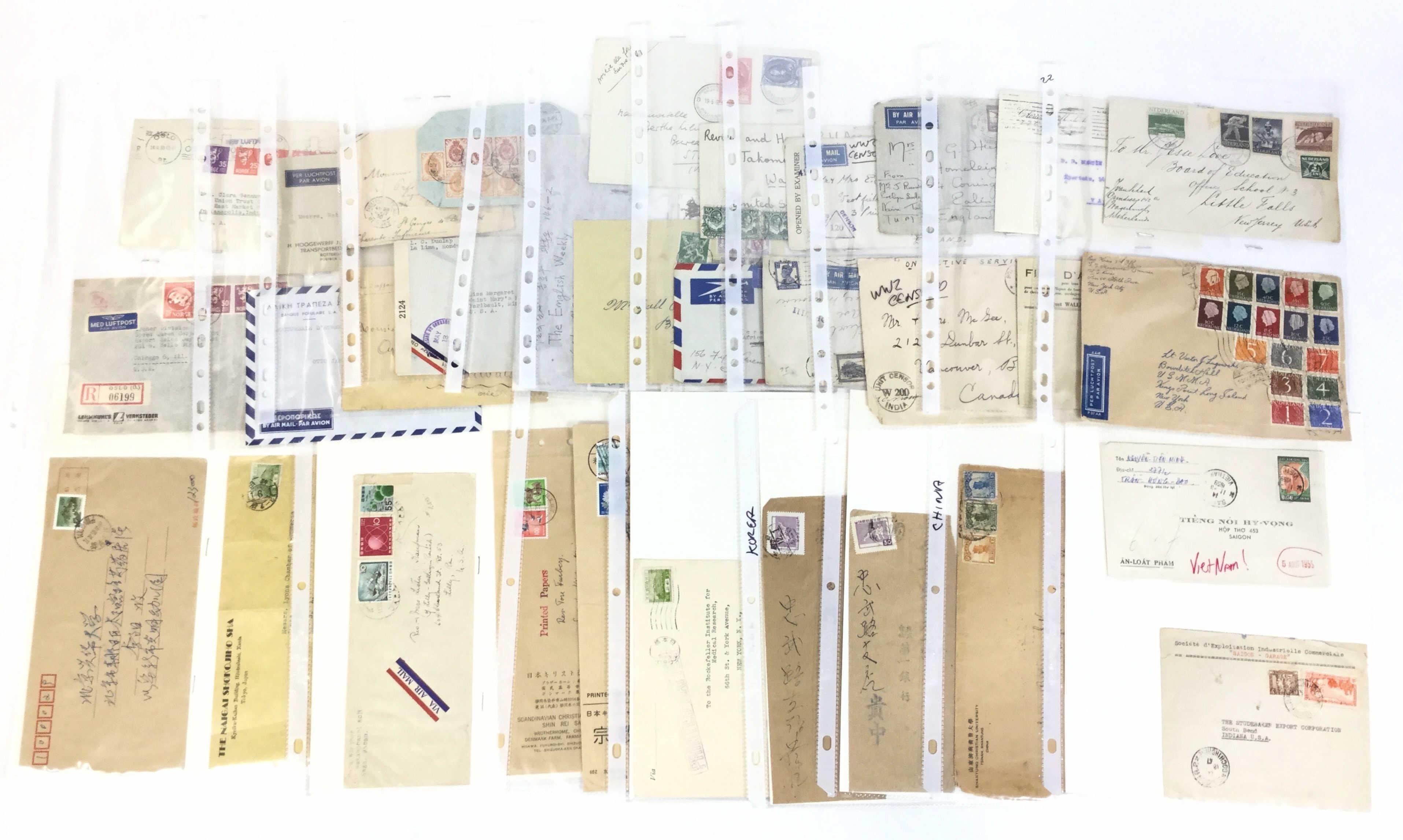 Vintage Worldwide Cover Combos, Korea, U. S.