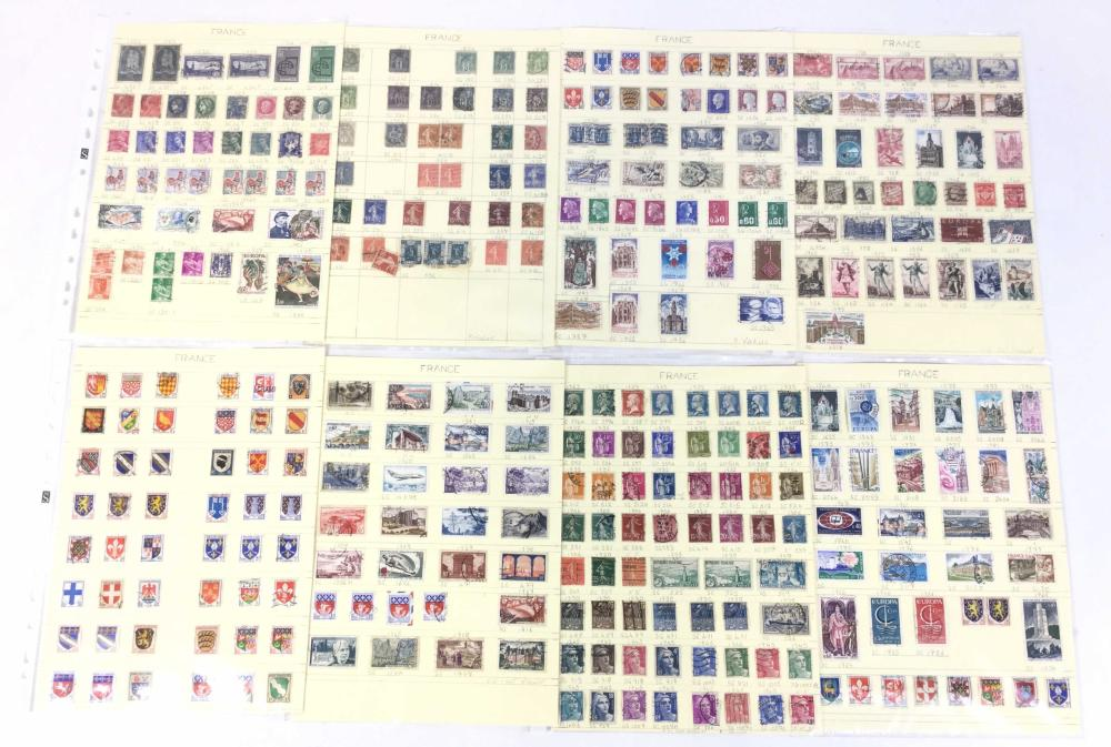 Large Collection Of Stamps, World Wide, France