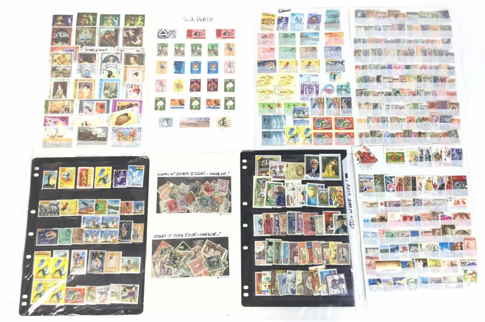 Large Collection Of World Wide Stamps, Africa