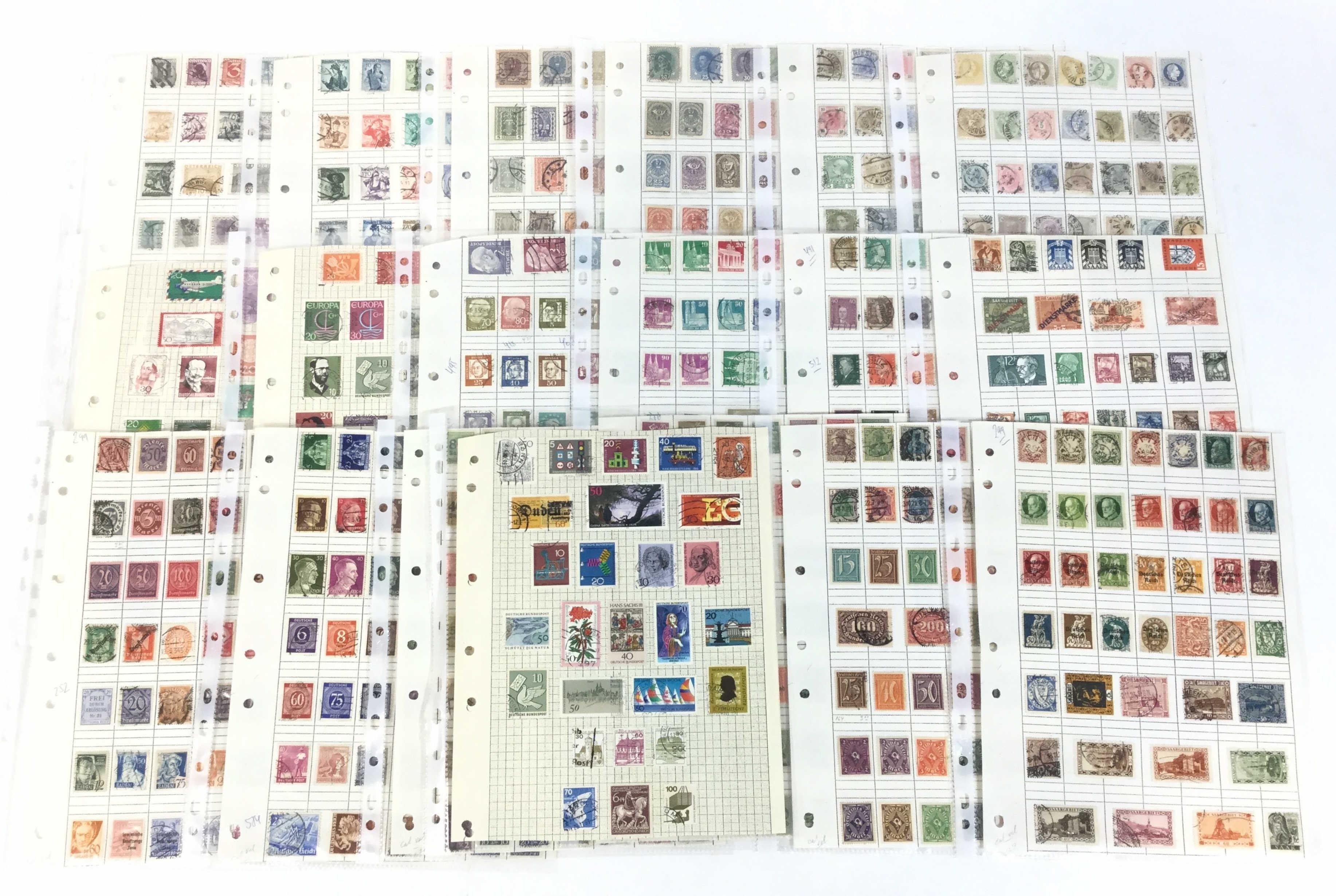 Vintage Austria & Germany Stamps