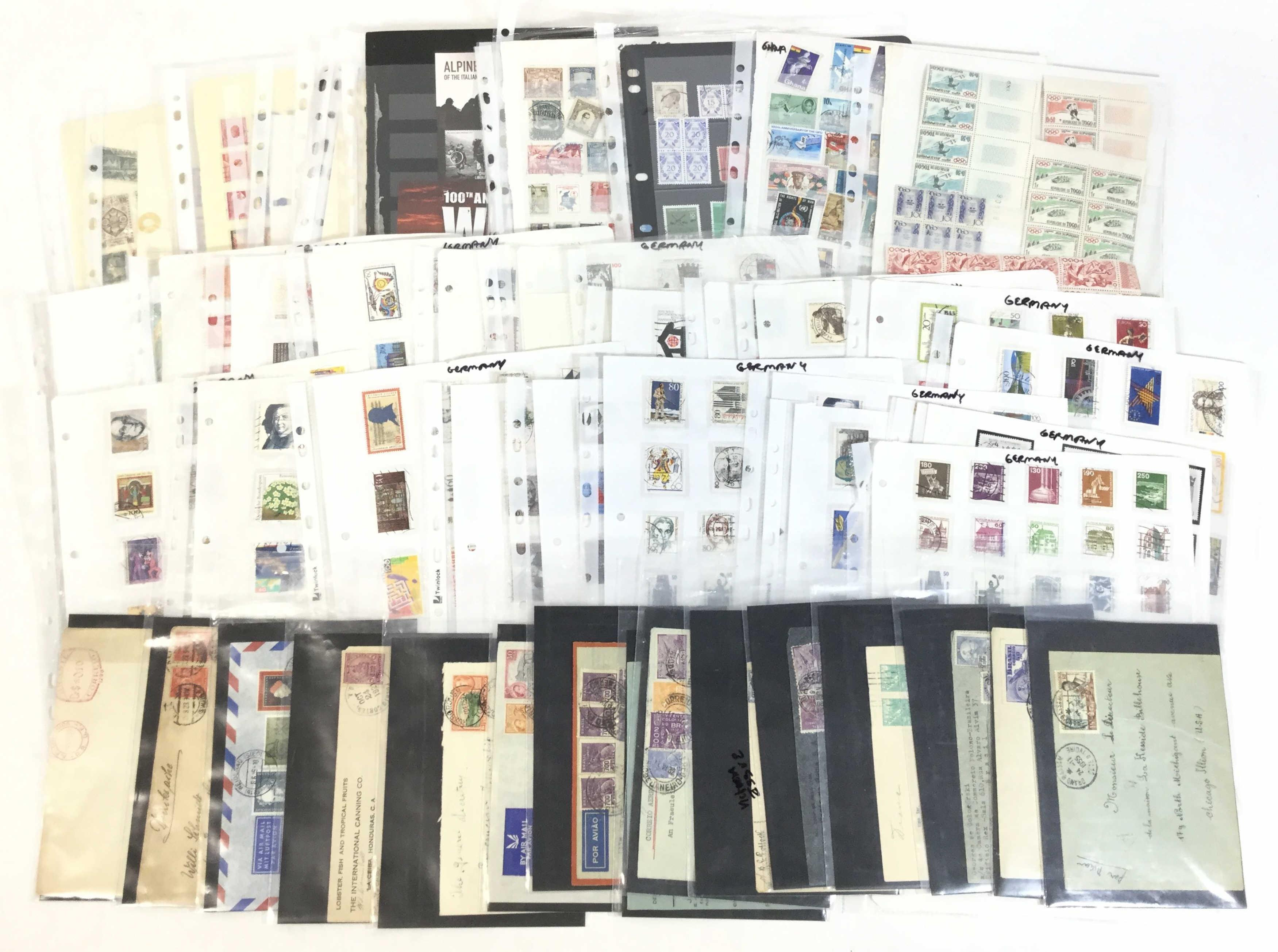 Large Collection Of Stamps & Covers, Germany