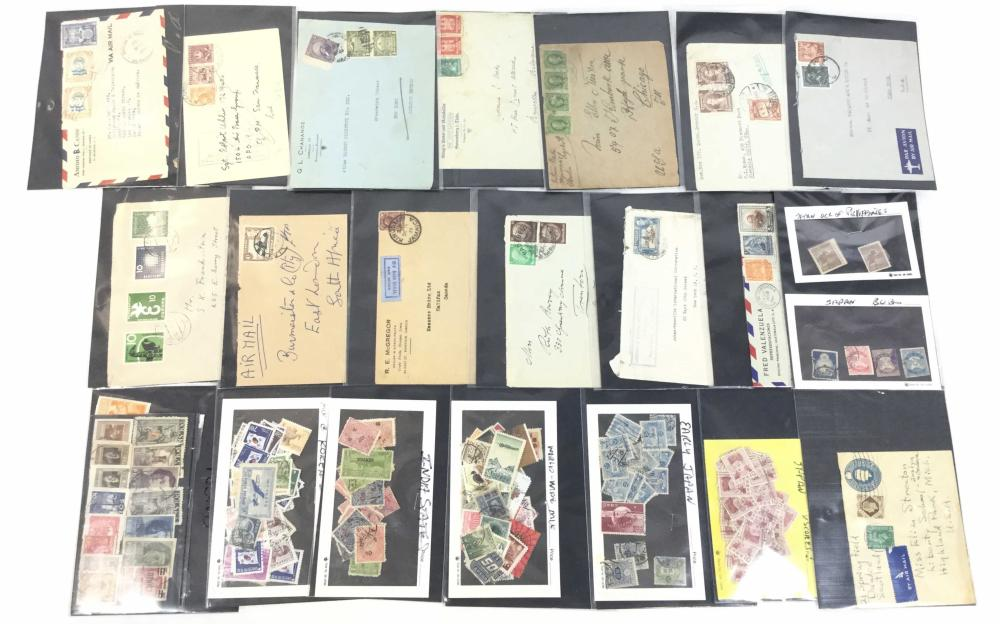 World Wide Stamps, India, Germany, Italy