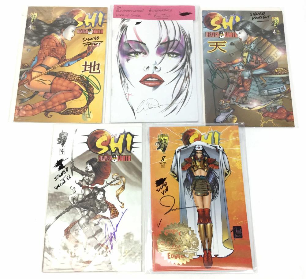 (10) Autographed Bill Tucci Crusade Comics