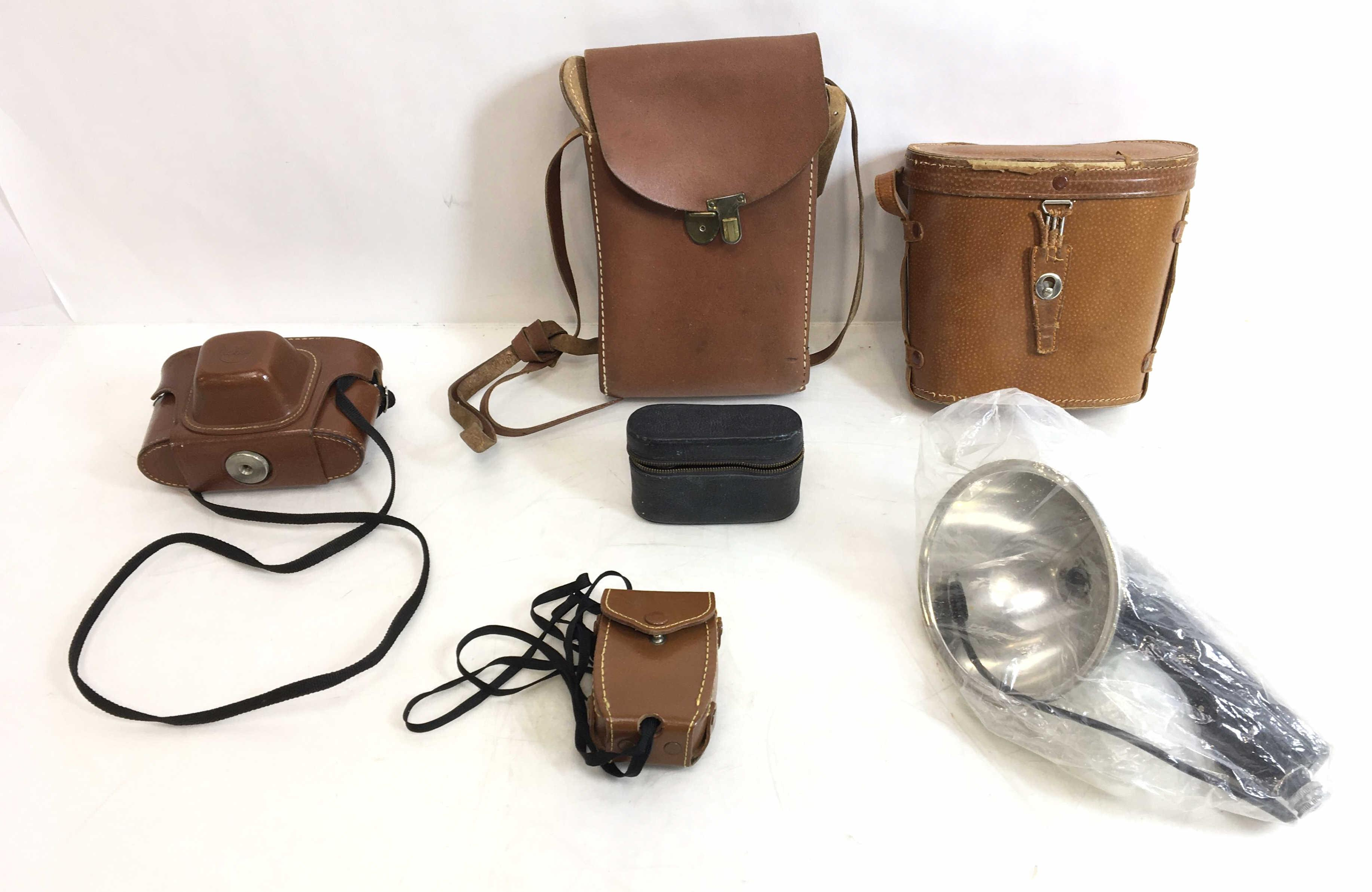 (6pc) Revere, GE, Kodak Cameras, Binoculars