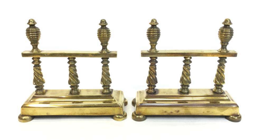 Vintage Brass Stands