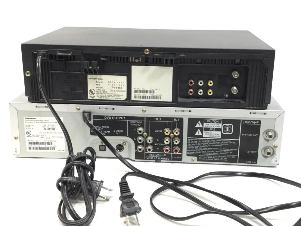 Panasonic VHS & DVD Player