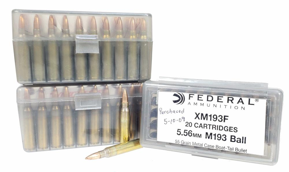 (150) Rds. Misc. 5.56 Ammunition