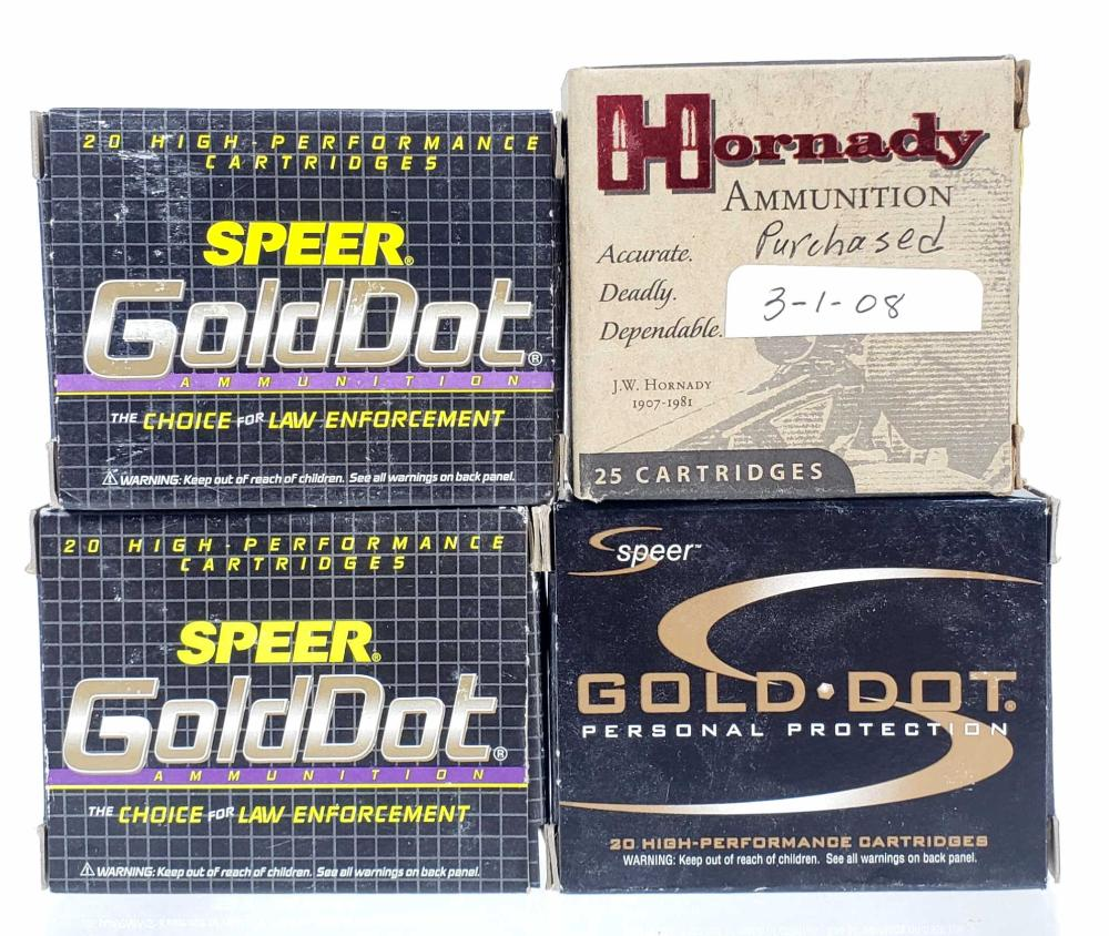 (80) Rds. .380 Auto Hollow Point Ammo