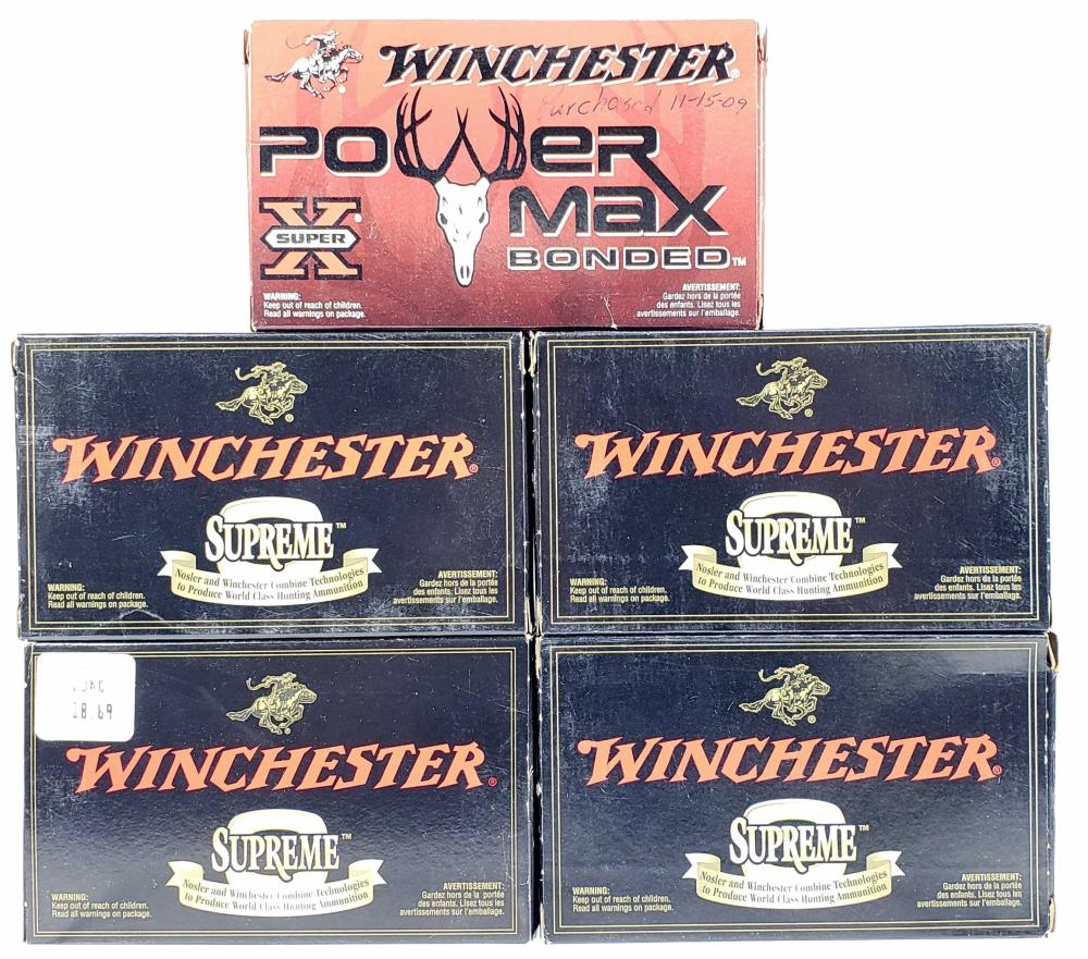 (100) Rds. Winchester .308 Win Ammo